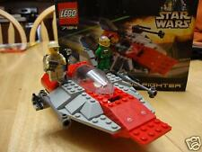 LEGO STAR WARS 7134 A-WING FIGHTER 100% COMPLETE