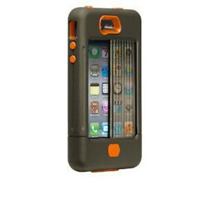 Case-Mate CM016802 iPhone 4 / 4S Tank Case (Military Green/Org)