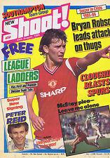 CLOUGH / BRYAN ROBSON / McSTAY / PETER REID / SOUTHAMPTONShoot24Aug1985