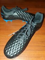 Nike Mens Tiempo Legend 8 Club FG Soccer Cleat Black Blue Size 10 AT6107-004 NEW