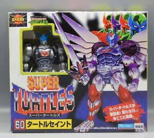 1995 Playmates Turtle Saint SUPER TURTLES action figure TMNT Japanese Takara !!!