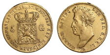 Netherlands - 5 Gulden 1827 Brussel - Gold
