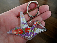 Japanese ORIGAMI chirimen Key Chain from Japan ~ Nice Culture item