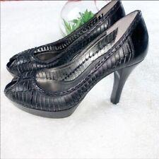 GUESS MARCIANO sz 7 Women's Heels - Reasonably Black Pumps Platform 4' high