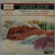 Angélique Marquise des anges 45 Tours Michel Magne Hossein Mercier 1964