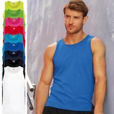 5er Pack Herren Performance Vest Fruit of the Loom Muskelshirt Fitness 61-416-0