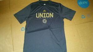 Kids Philadelphia Union Adidas Short Sleeve Shirt Navy