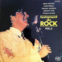 Compilation LP Testament Du Rock Vol. 3 - France (EX/EX+)