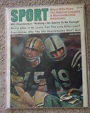 "BART STARR/JOHNNY UNITAS July 1970 ""SPORT"" Magazine -  NM  (0052)"
