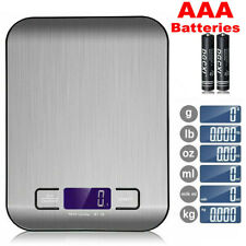 More details for digital kitchen scales electronic lcd balance scale food weight postal scale