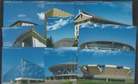 CHINA 2007-32 Beijing 2008 Olympic Competition Venues stamp Postcard x 9