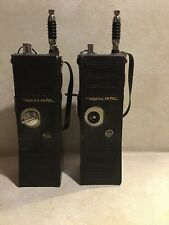 TRC-100B Realistic 5 Watts 6 Channel Radio Transceiver Lot Of 2 W Cases