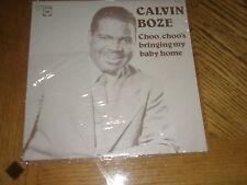 CALVIN BOZE / CHOO CHOO'S BRINGING MY BABY HOME ~ 1949-1952  NEW ~ SEALED