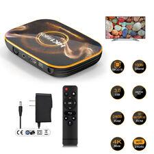 Hk1 Pro Android 10.0 Os 4+128G 4K Smart Tv Box 5G Wifi Media Streamer Us Seller