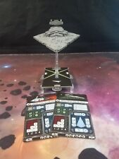 Star Wars Armada - Imperial Star Destroyer Ship Barebones NO UPGRADE CARDS