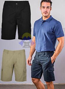 BERMUDA CARGO da UOMO Pantaloncini CORTI con TASCHE Jeans TASCONI Zip PANTALONE