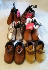 lots of new garanimals infants boots, size 5,easy on/off,flexible outsole/insole