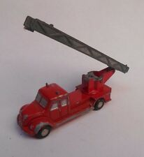 Vintage Original Schuco West Germany Piccolo Magirus Fire Truck