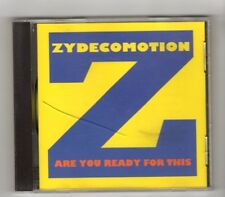 (IL578) Zydecomotion, Are You Ready For This - 1996 CD