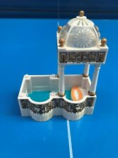 BLUEBIRD 1999 POLLY POCKET MAISON DREAM BUILDER DELUX MANOIR etage PISCINE BAIN