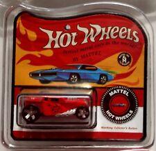 World's Smallest Hot Wheels Red Bone Shaker Miniatures Diecast Redline Package