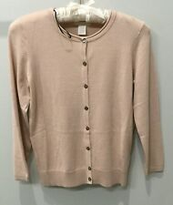 NWT H&M Basic Women's Classic Cardigan ~ Sz XS ~ Rose Pink ~ 3/4 Sleeve