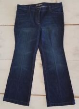 new york & company women's jeans size 16 low rise skinny flare leg plus