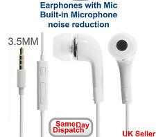 Earphones Earbud Handsfree Headphones with Mic for Samsung S3 S4 S5 S6 Note Edge