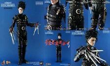 HOT TOYS 1/6 EDWARD SCISSORHANDS Johnny Depp Movie Figure Tim Burton RARE TOY!!!