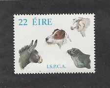 Dog Art Head Portrait Postage Stamp JACK RUSSELL TERRIER Ireland Sheep DonkeyMNH