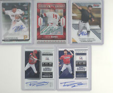 Pittsburgh Pirates auto serial # white sparkle 10 card lot Travis Swaggerty +