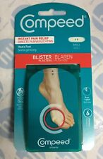COMPEED HYDROCOLLOID BLISTER PLASTERS  INSTANT PAIN RELIEF( Small) X 6