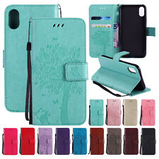 Flip Leather Card Wallet Stand Pattern Case Cover For iPhone XS Max/XR/X/7 8Plus