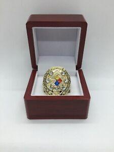 2008 Pittsburgh Steelers Ben Roethlisberger Super Bowl Championship Ring Set G