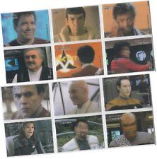 """Star Trek Filme in Motion: 12 Karte """" Stars in Motion Chase Set CO1-CO12"""