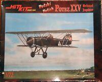 Hit Kit 1/72 Potez XXV with Bristol Jupiter Polish fighter unmade kit sealed box