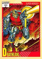 DEATHLOK / Marvel Universe Series 2 (Impel 1991) BASE Trading Card #16