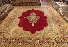 10 x 13.9  High Quality Handmade Antique1930 Persian Lavar Kerman Fine Wool Rug