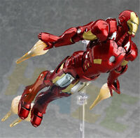 Figma 217# The Avengers Iron Man PVC Action Figure Model Toy 16cm In Box Present