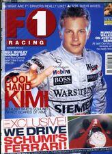 F1 RACING MAGAZINE November 2002 Raikkonen Murray Walker Senna Schumacher SEALED