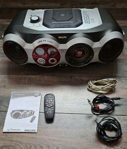 Philips AZ 2558 MP3-CD Soundmachine Ghetto Blaster USB PC AUX Radio * Abholung *