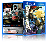 Gravity Rush 2 - ReplacementPS4 Cover and Case. NO GAME!!
