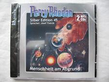 "PERRY RHODAN SILBER-EDITION Nr. 45 �€"" MENSCHHEIT AM ABGRUND �€"" 2 MP3-CD`s, NEU OVP"