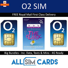 2G GSM O2 Sim Card for Car GPS Tracker Tracking Devices 2p per Text 1p Per MB