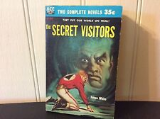 James White/Robert Silverberg Ace Double 1957~D237~Secret Visitors~Collectible