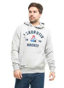 "Lokomotiv Yaroslavl ""Club"" KHL sweatshirt hoodie with pocket"