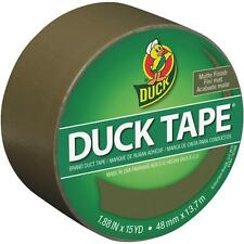 6 Pk Duck Tape 1.88 In x 15 Yd X 9 mil Olive Colored Duct Tape 241340