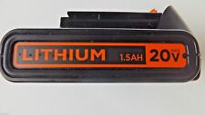 Genuine Black & Decker 20V Max LBXR20 1.5 Amp Hour Lithium-Ion Battery