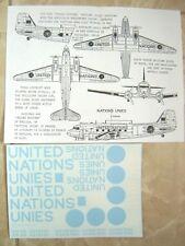 "C-47/CC129 DAKOTA ""RCAF/UNITED NATIONS"" ARROW GRAPHICS DECALS 1/48"