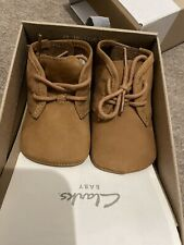 Baby Clarks Desert Boots Size 6-9 Months